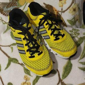 Adidas Men's Climacool yellow mesh sneakers